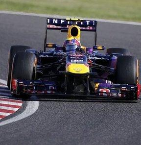 İlk sıra Webber'in