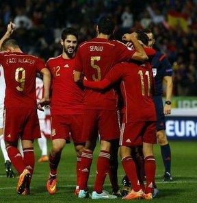İspanya: 3 - Belarus: 0 / Maç özeti