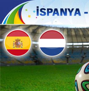 İspanya – Hollanda (CANLI)