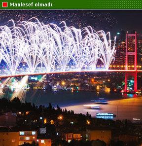 İstanbul 3. kez kaybetti