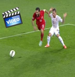 İşte verilmeyen penaltı!