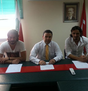 PTT 1. Lig ekiplerinden Karşıyaka'nın, Muhammet Özdin ve Burak Karaduman ile anlaştığı bildirildi.
