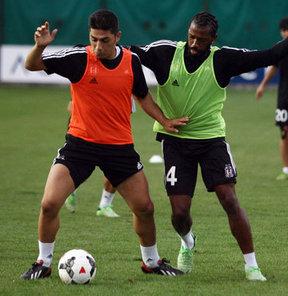 Beşiktaş, Spor Toto Süper Lig'de 22 Eylül Pazar günü Galatasaray ile yapacağı derbi maçın hazırlıklarını sürdürdü