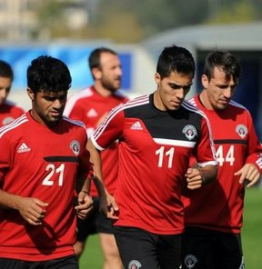 Kasımpaşa'da Gençlerbirliği maçı hazırlıkları sürüyor