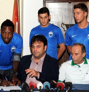 Spor Toto Süper Lig'in yeni ekiplerinden Kayseri Erciyesspor, 3 futbolcuyla sözleşme imzaladı