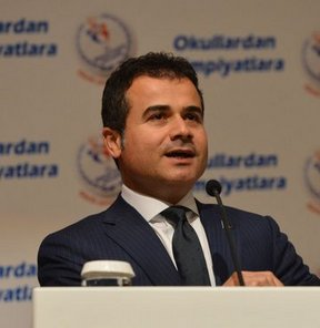 Gençlik ve Spor Bakanı Suat Kılıç, Ankaragücü Başkanı Mehmet Yiğiner ile yönetim kurulu üyelerini kabul etti