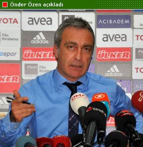 Beşiktaş'tan teknik direktör açıklaması...