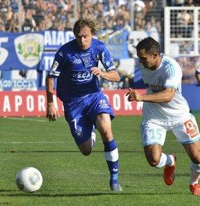 Fenerbahçe'den Bastia'ya kiralanan Milos Krasic, yeni takımıyla ilk golünü attı