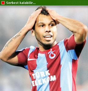 Trabzonspor'da alacak problemi yaşayan oyuncular kervanına Alanzinho da eklendi