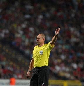 Lazio maçını Hansson yönetecek