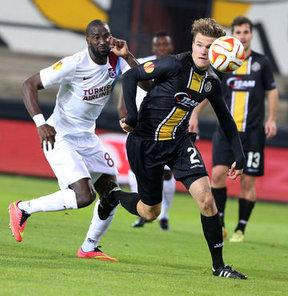Lokeren: 1 - Trabzonspor: 1