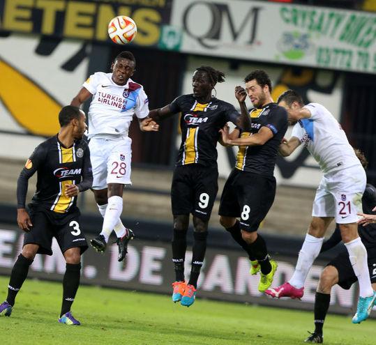 Lokeren: 1 – Trabzonspor: 1