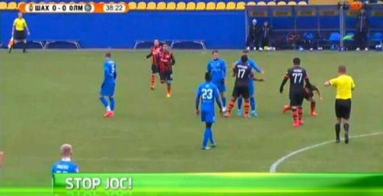 Lucescu takımını sahadan çekti
