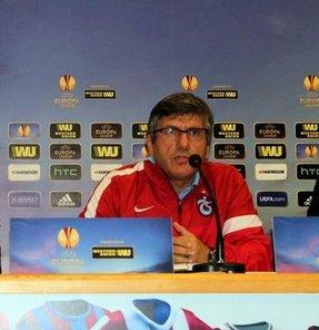 Trabzonspor Teknik Direktörü Mustafa Reşit Akçay, Lazio ile oynayacakları maçın kilidinin sabır üzerine kurulu olacağını söyledi
