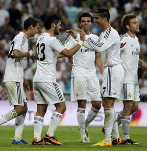 La Liga 5. haftasında Real Madrid, Getafe'yi 4-1 yendi