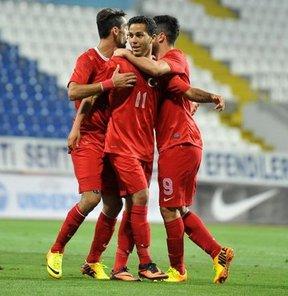 2015 Ümitler Avrupa Futbol Şampiyonası Elemeleri 7. Grup maçında Türkiye, Malta'yı 4-0 yendi