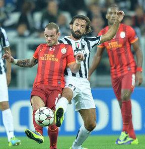 Galatasaray'ın Hollandalısı Wesley Sneijder, Juventus maçındaki 2-2'lik sonucun ardından konuştu.