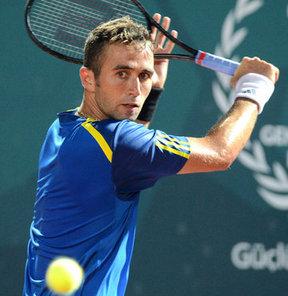 PTT İstanbul Cup ATP Challenger Turnuvası'nda; Marsel İlhan, ilk turda Slovak Beck'e yenilerek elendi