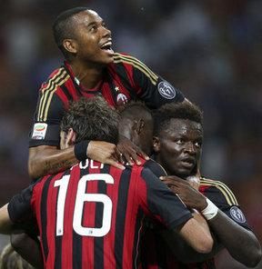 Milan galibiyetle tanıştı