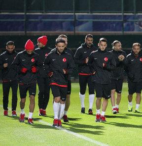 A Milli Futbol Takımı, 11 Ekim Cuma günü deplasmanda Estonya ile yapacağı maç için yarın Tallinn'e gidecek