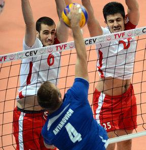 Voleybol Erkekler Avrupa Ligi 3. Ayak müsabakalarında Türkiye, Belarus'a 3-1 yenildi