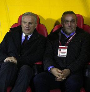 Mustafa Denizli'yle görüştüler