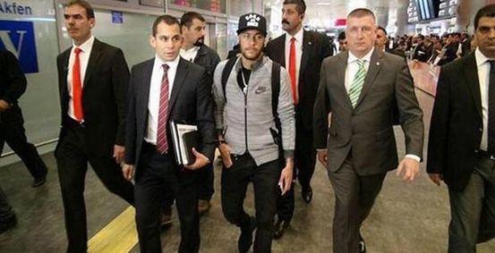 Neymar İstanbul'da