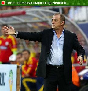 A Milli Takım Teknik Direktörü Fatih Terim, Romanya maçının ardından önemli açıklamalar yaptı...