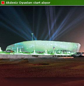 17. Akdeniz Oyunları, bugün Londra 2012'yi aratmayacak bir törenle 'resmen' start alacak