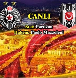 Partizan-Beşiktaş