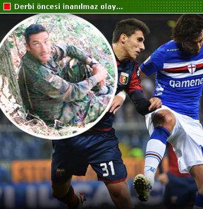 Sampdoria-Genoa maçı öncesinde film senaryolarını aratmayacak bir ajanlık vakası meydana geldi