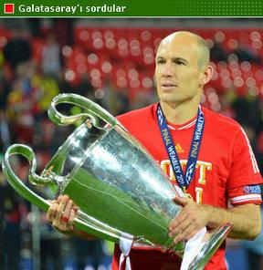 Galatasaray'ın yaz aylarında yapmayı planladığı 'çilek' transferi olacağı uzun süre konuşulan Arjen Robben, açıklamalarda bulundu