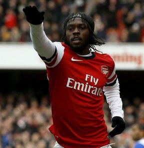 Roma'nın Arsenal'in Fildişi Sahilili golcüsü Gervinho ile ilgilendiği iddia ediliyor