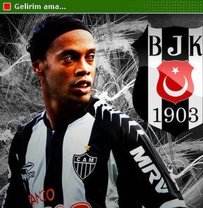 """Ronaldinho Beşiktaş'ın teklifine """"Evet"""" dedi ama yıllık 15 milyon Euro'da diretti..."""