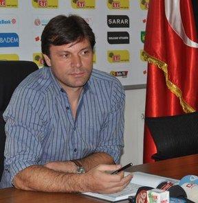 Eskişehirspor Teknik Direktörü Ertuğrul Sağlam açıklamalarda bulundu