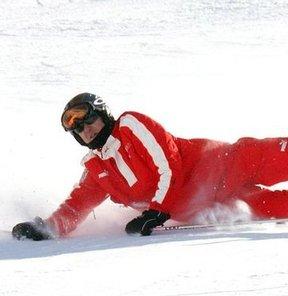 Schumacher komadan çıktı!