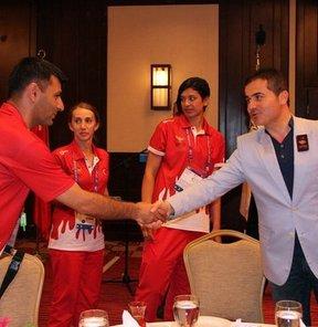 Gençlik ve Spor Bakanı Suat Kılıç, 17. Akdeniz Oyunları'nda daha önceden başarılı olamadıkları birçok branşta madalya alarak şeytanın bacağını kırdıklarını söyledi