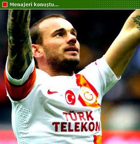 Sneijder gidecek mi?