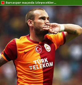 Sneijder için geldiler