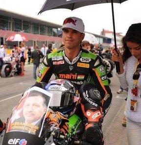 Milli motosikletçi Kenan Sofuoğlu, Dünya Supersport Şampiyonası'nın İtalya ayağına 2. sıradan başlayacak