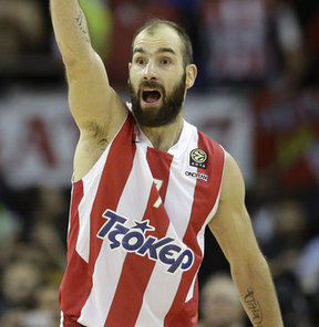 Spanoulis, Olympiakos ile sözleşmesini yeniliyor