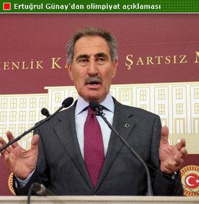 Kültür ve Turizm eski Bakanı, AK Parti İzmir Milletvekili Ertuğrul Günay, İstanbul'un 2020 Olimpiyatları'nı kaybetmesinin nedenlerini açıkladı