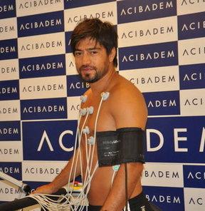 Beşiktaş'ın takım kaptanı İbrahim Toraman, sağlık kontrolünden geçti