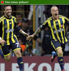 Fenerbahçe'de tüm  takım gidiyor