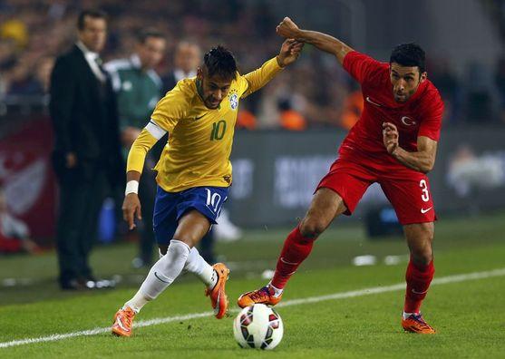 Türkiye: 0 – Brezilya: 4 / Maç özeti