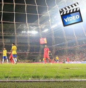 Türkiye - Brezilya maçının golleri 'da