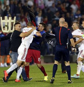 UEFA'dan Sırbistan - Arnavutluk kararı