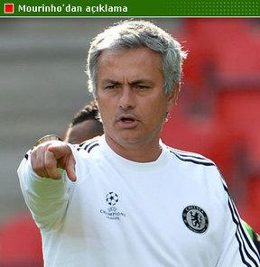 Mourinho, bugünkü maçta kazanmasını istediği takımı açıkladı