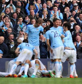 Ve Manchester City şampiyon!