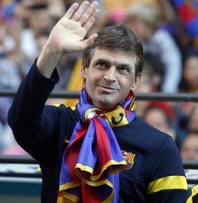 """Barcelona Teknik Direktörü Tito Vilanova, """"Pep (Guardiola) doğru bir şey yapmadı ve beni şaşırttı"""" diye konuştu"""